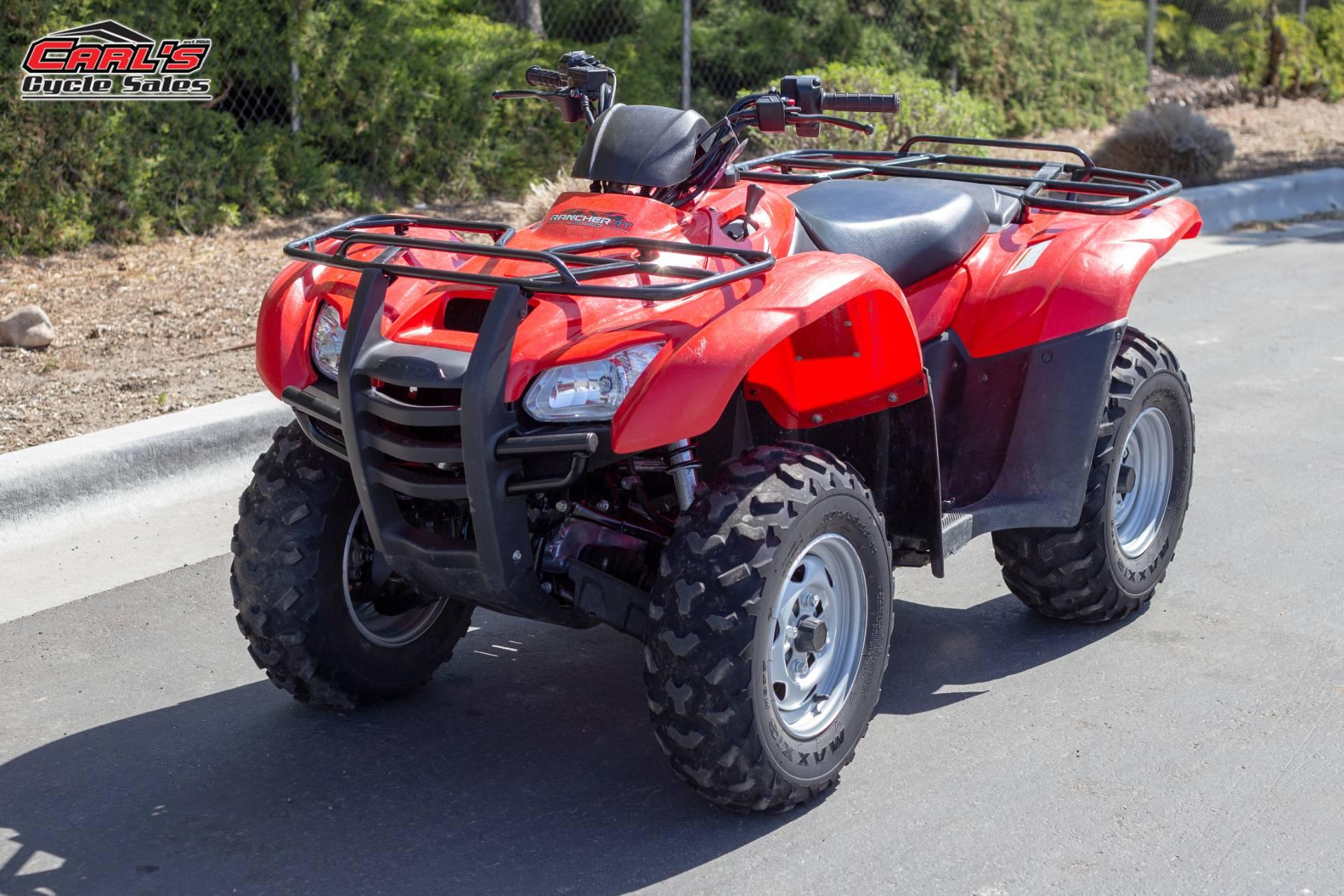 2014 Honda FourTrax Rancher 4x4 DCT EPS 2