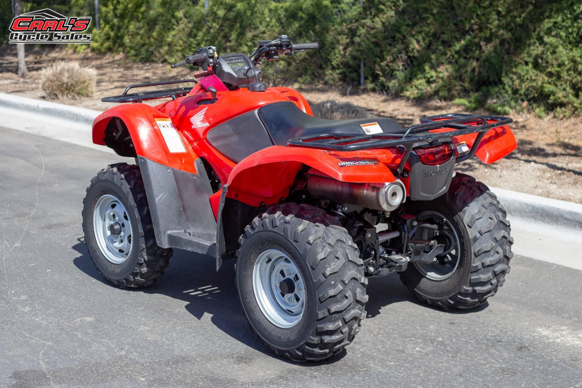 2014 Honda FourTrax Rancher 4x4 DCT EPS 3
