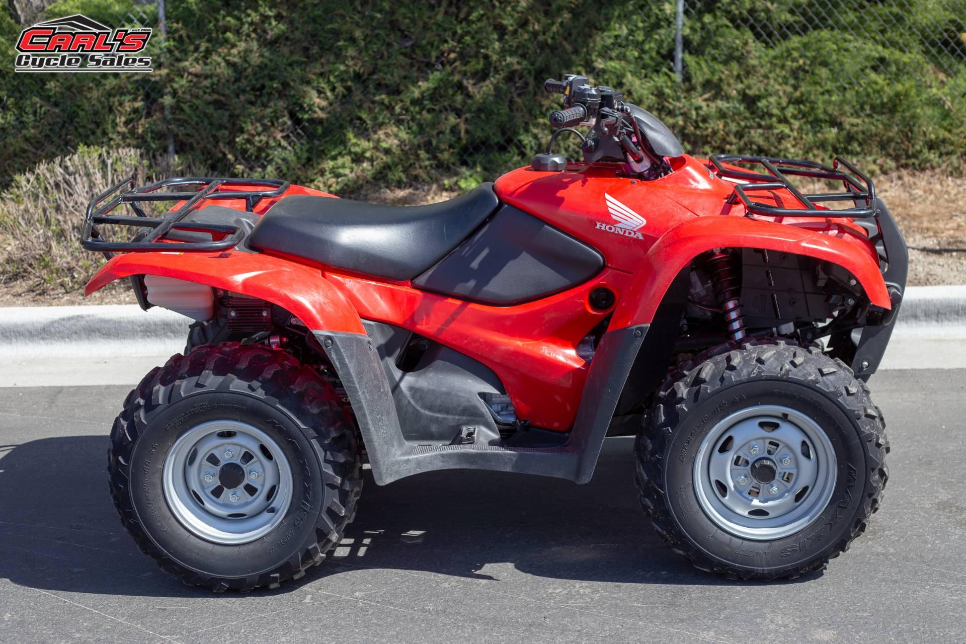 2014 Honda FourTrax Rancher 4x4 DCT EPS 7
