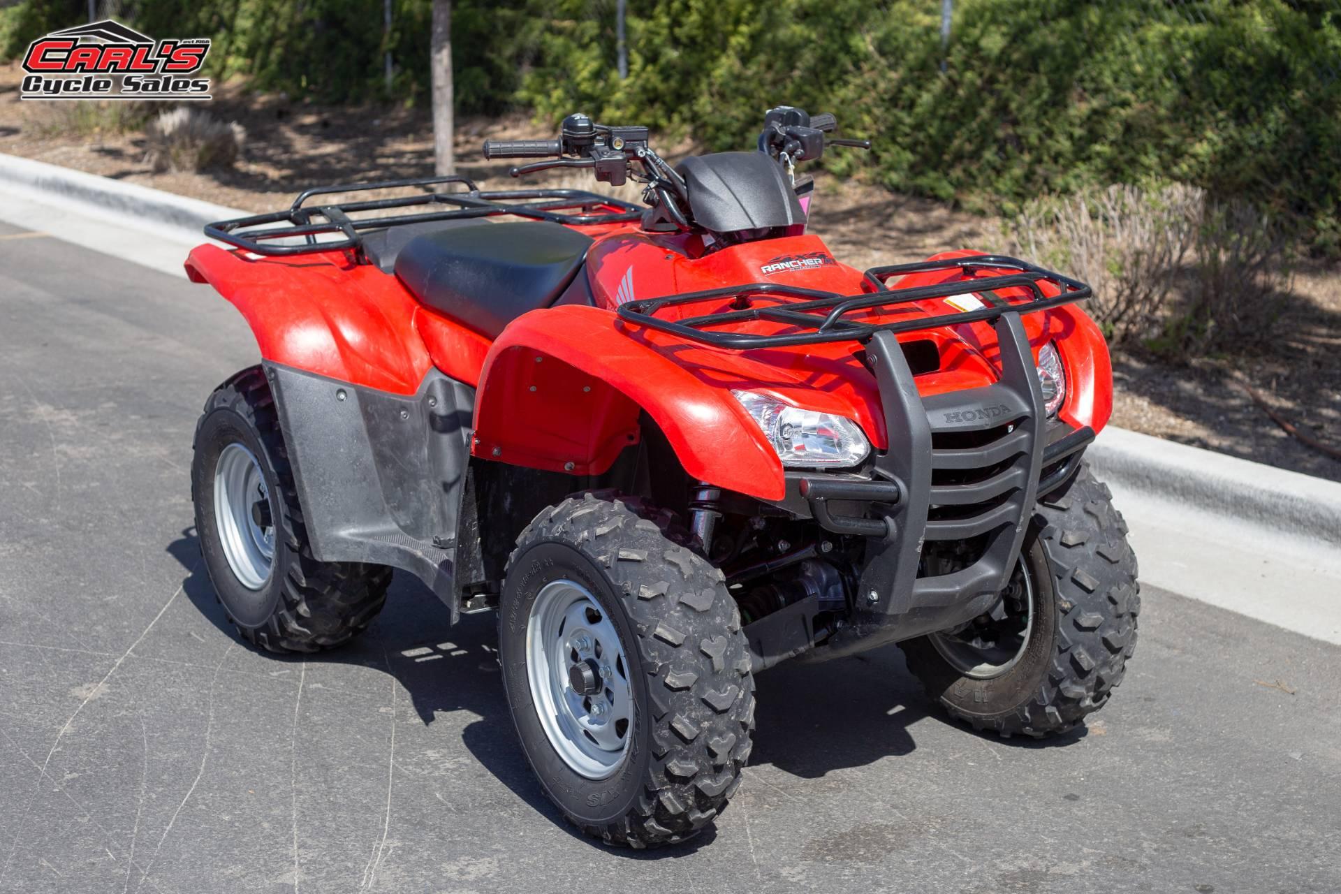 2014 Honda FourTrax Rancher 4x4 DCT EPS 8