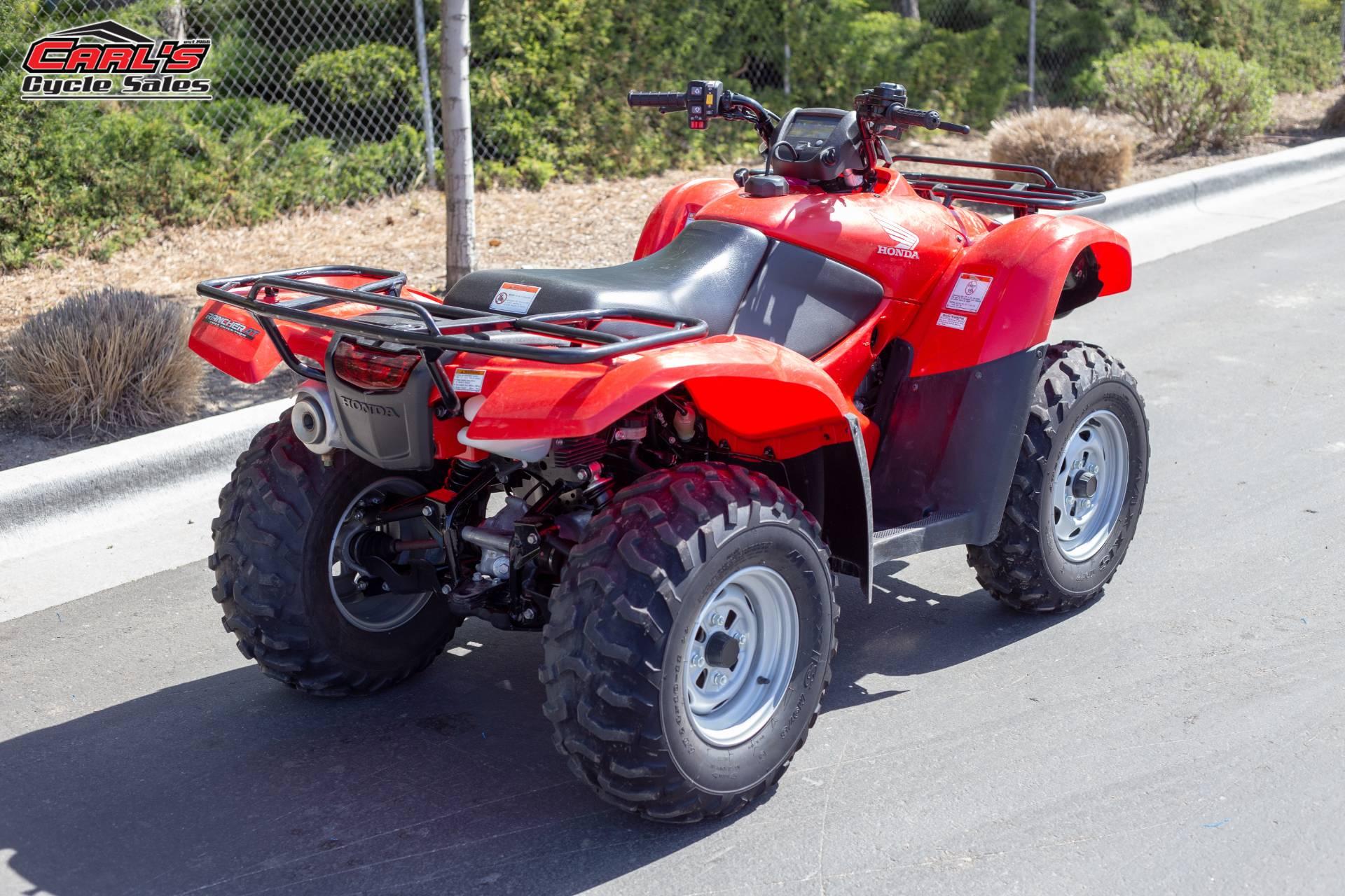 2014 Honda FourTrax Rancher 4x4 DCT EPS 9