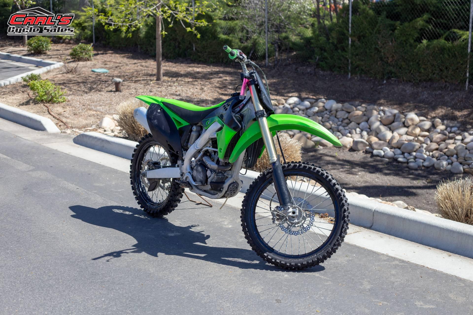 2011 Kawasaki KX250F 7
