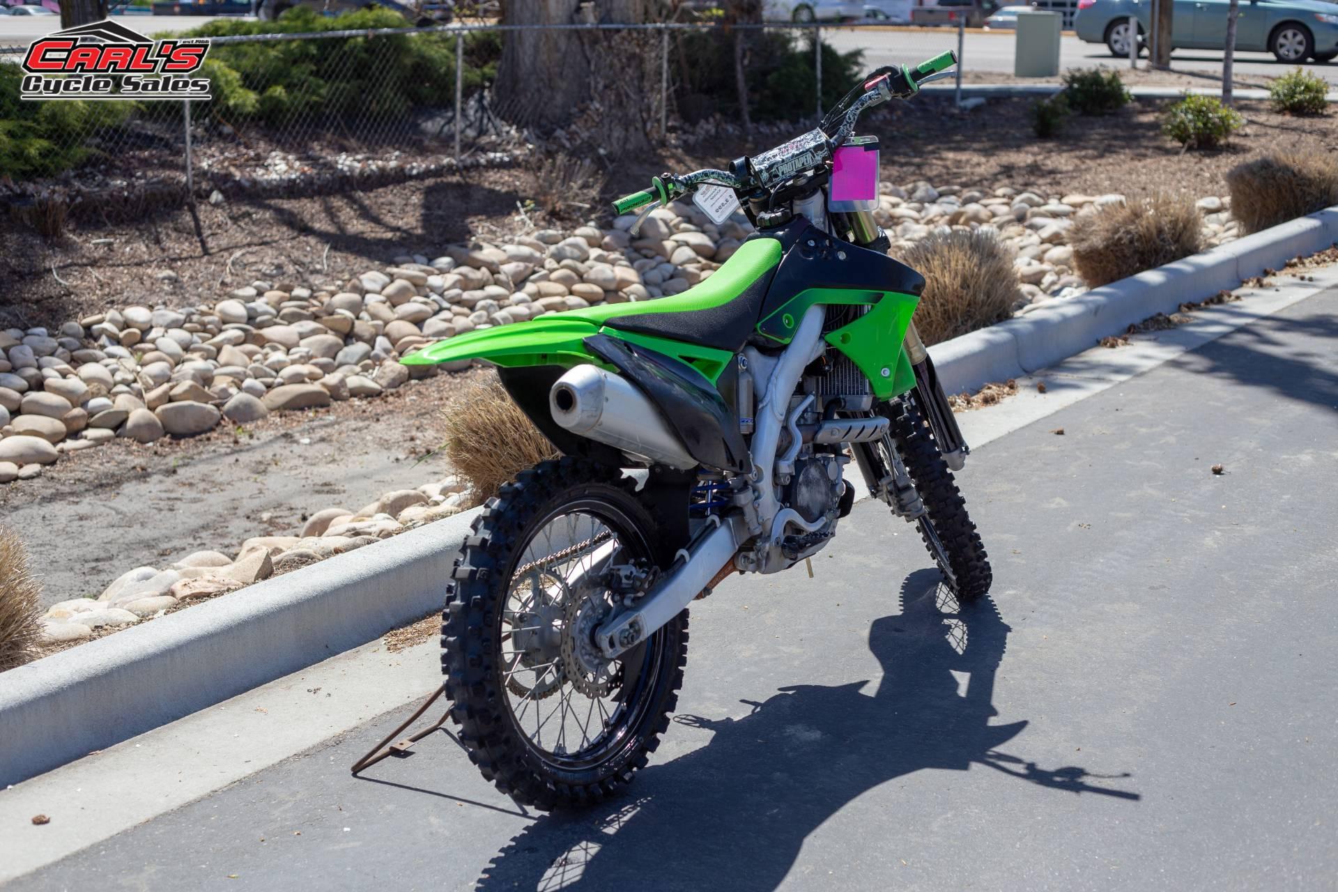 2011 Kawasaki KX250F 8