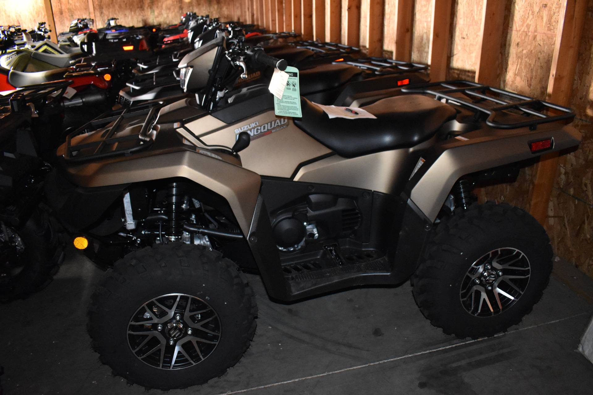 2019 Suzuki KingQuad 500AXi Power Steering SE+ in Boise, Idaho