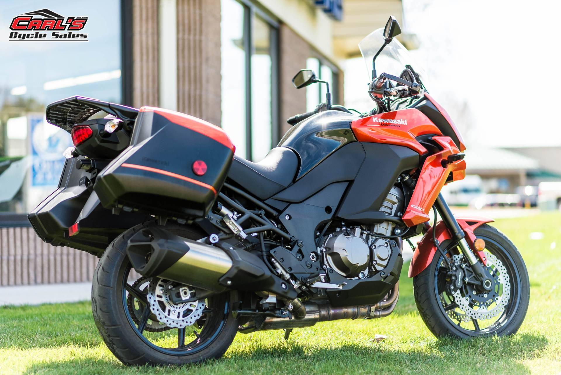 2015 Kawasaki Versys® 1000 LT in Boise, Idaho