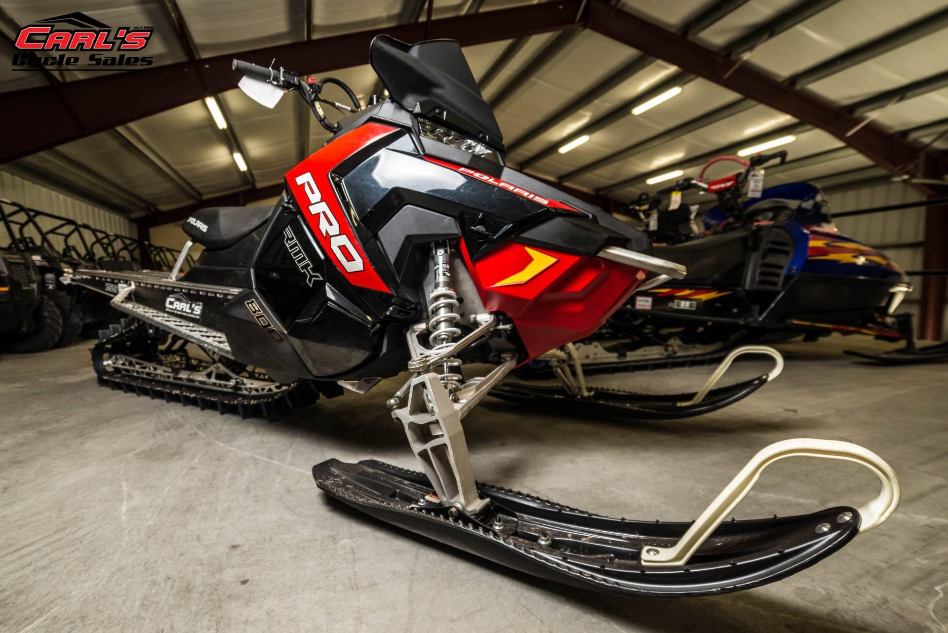 2016 Polaris 800 Pro-RMK 155 in Boise, Idaho