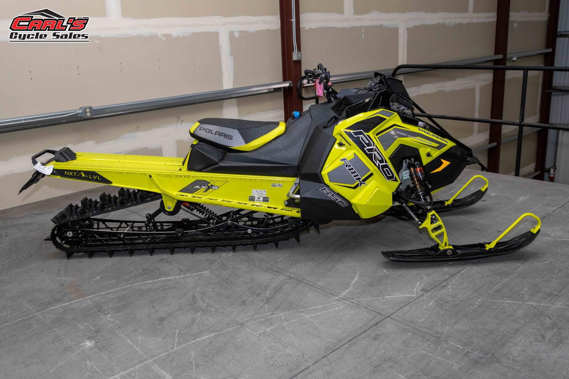 2019 Polaris 850 PRO-RMK 155 SnowCheck Select in Boise, Idaho