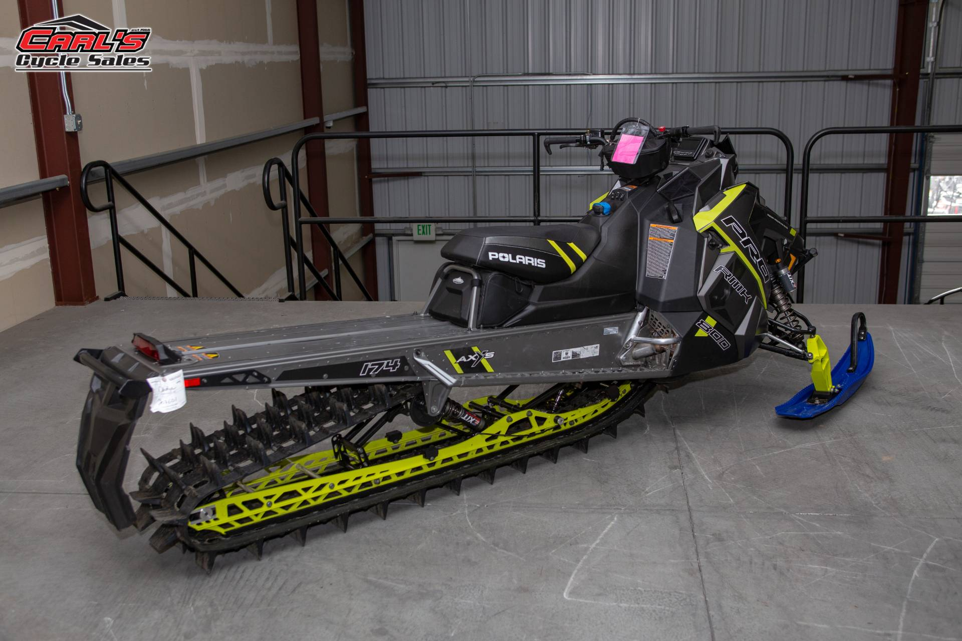 2017 Polaris 800 PRO-RMK 174 LE in Boise, Idaho - Photo 8