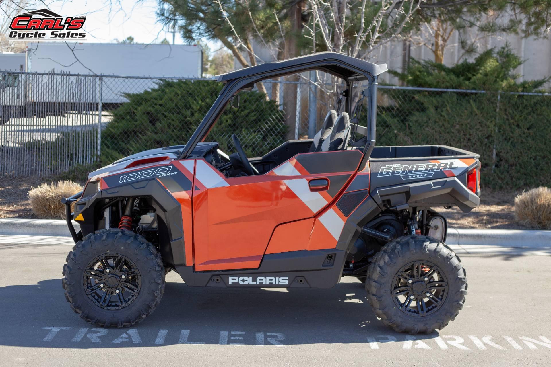 Polaris General 1000 >> New 2019 Polaris General 1000 Eps Deluxe Utility Vehicles In Boise