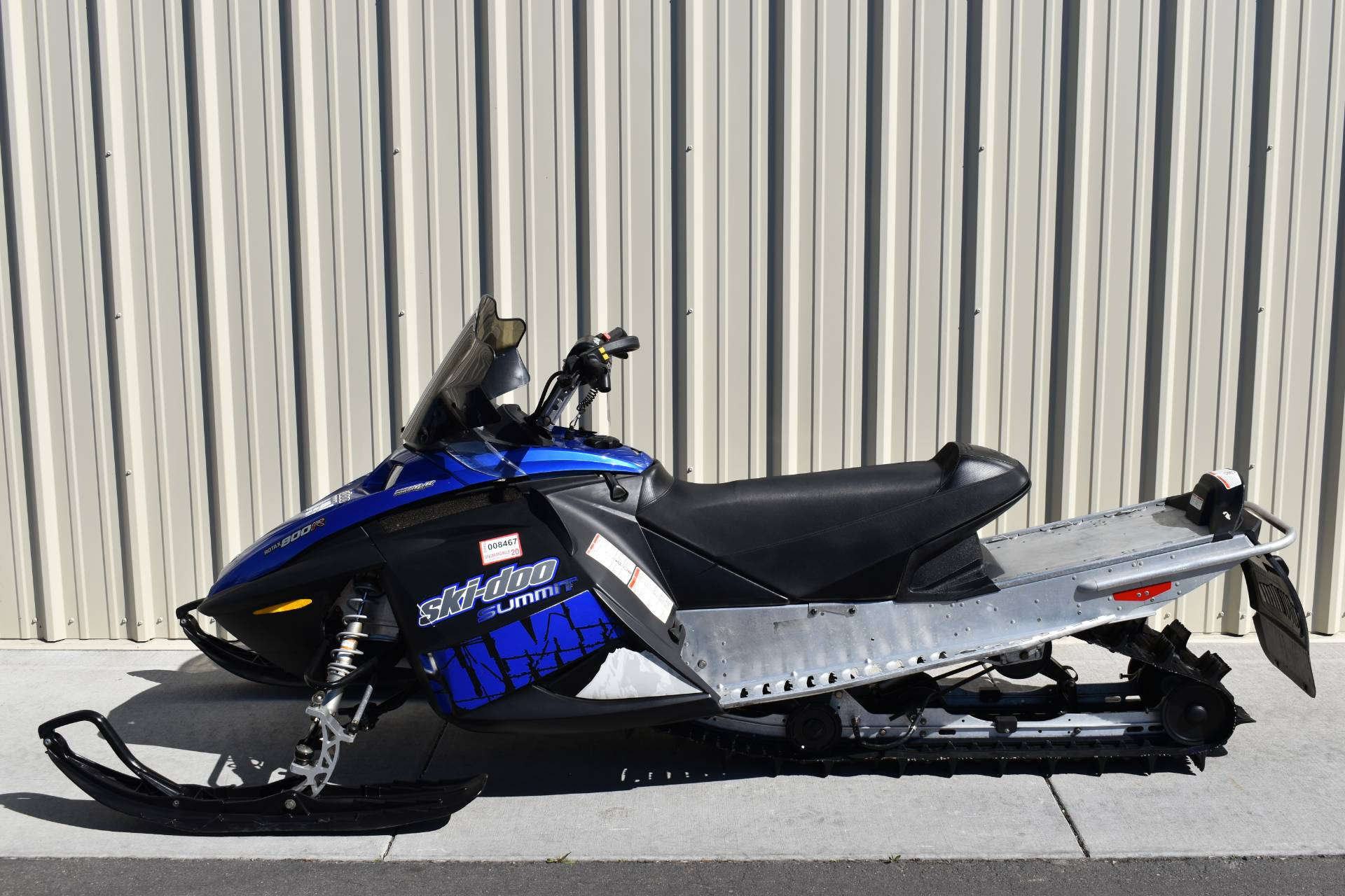 2007 Ski-Doo Summit Adrenaline 144 800R Power T.E.K. in Boise, Idaho - Photo 2