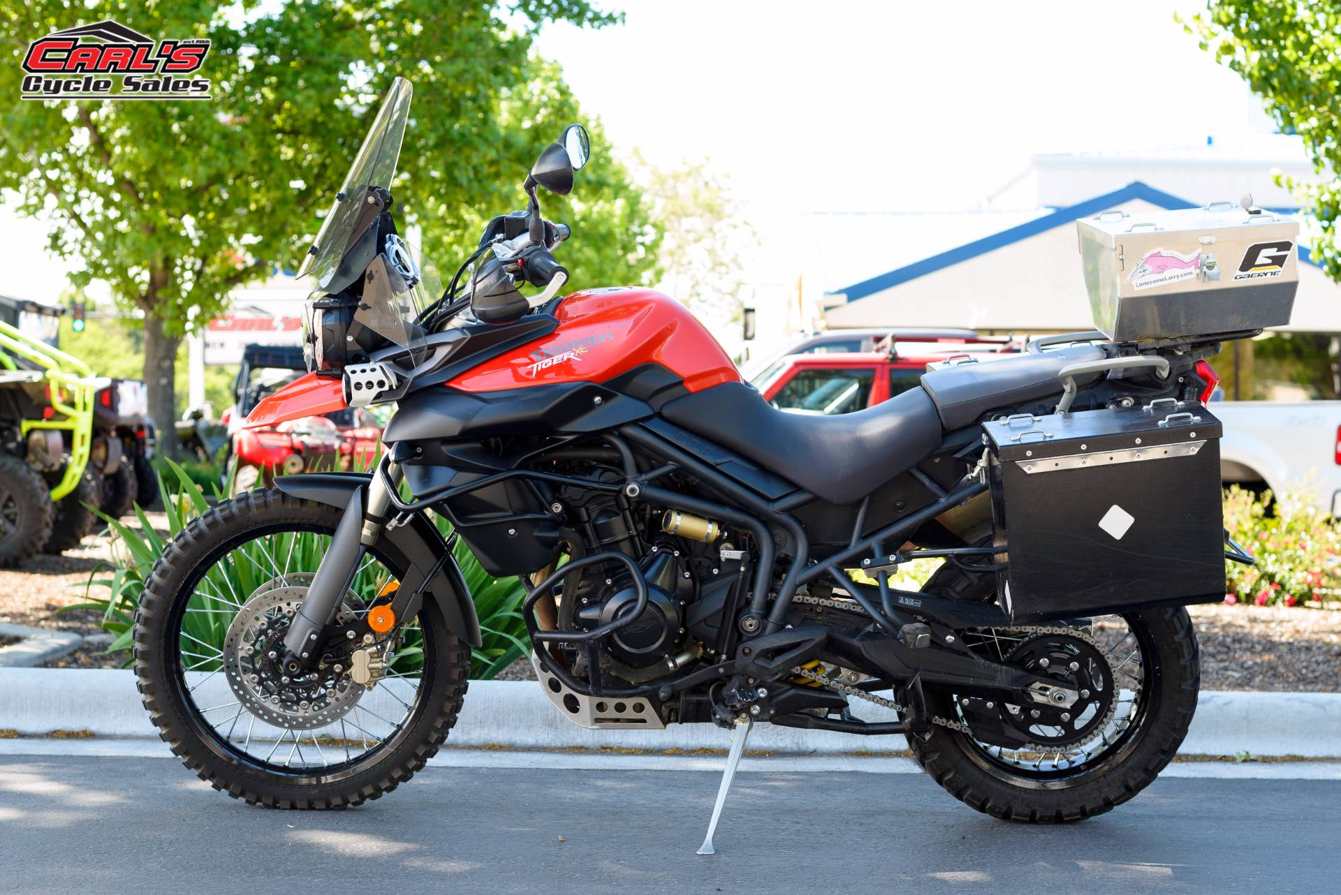 2012 Tiger 800 XC ABS