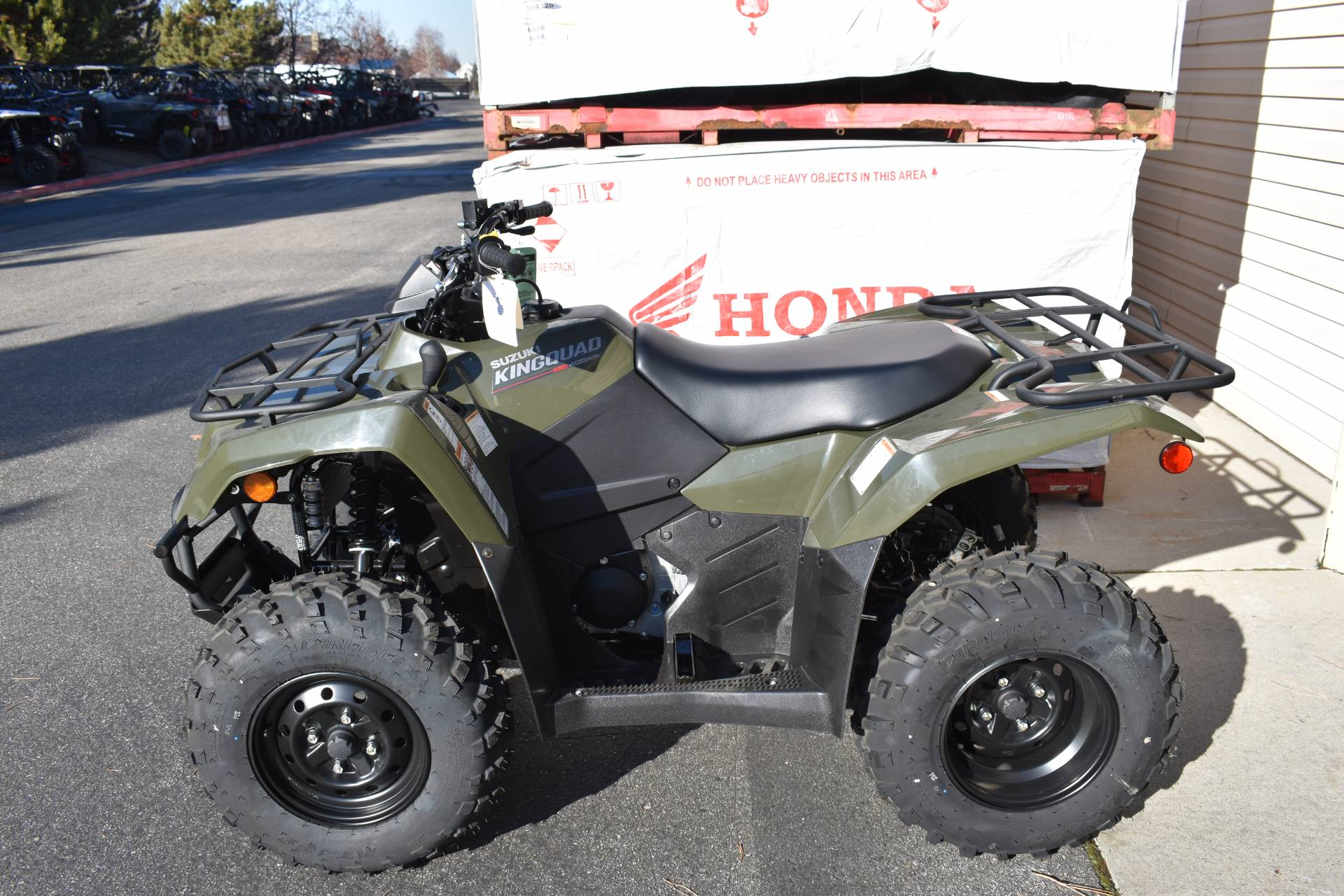 2019 Suzuki KingQuad 400ASi in Boise, Idaho