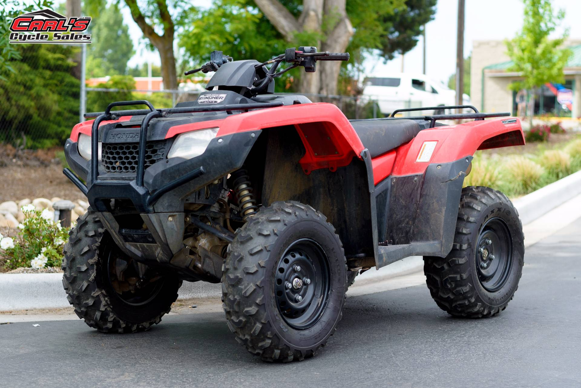 2015 FourTrax Rancher 4x4 DCT IRS EPS