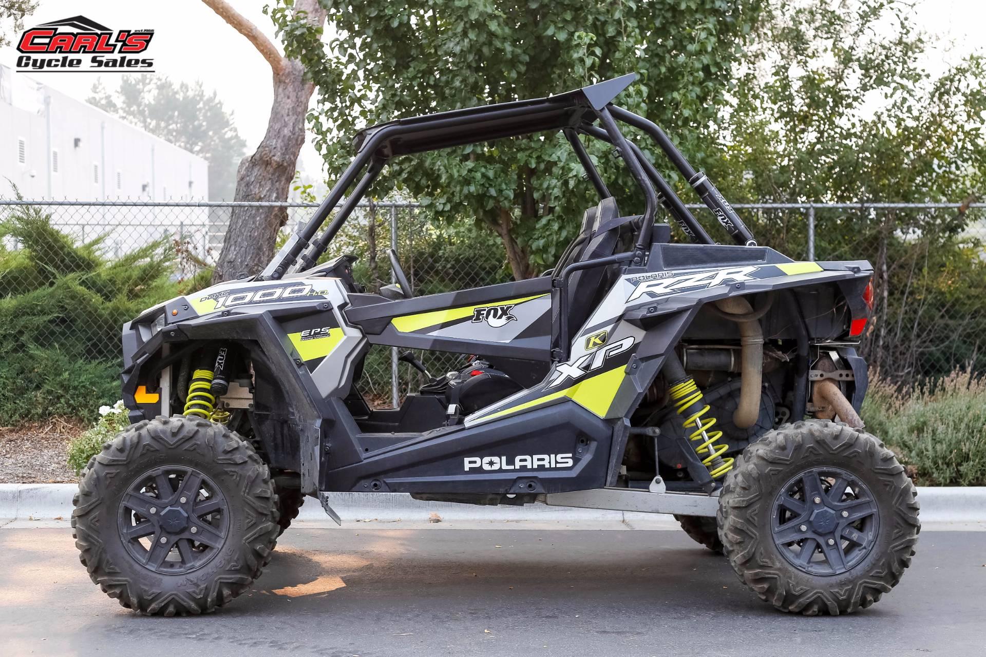 2015 Polaris RZR XP 1000 EPS 1