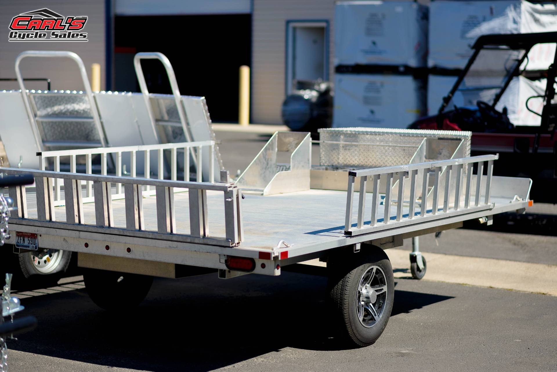 2015 ALUMA UTV TRAILER in Boise, Idaho