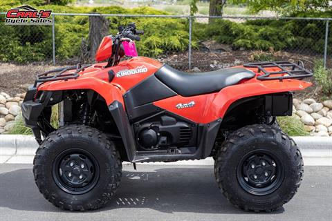 2018 Suzuki KingQuad 750AXi Power Steering in Boise, Idaho