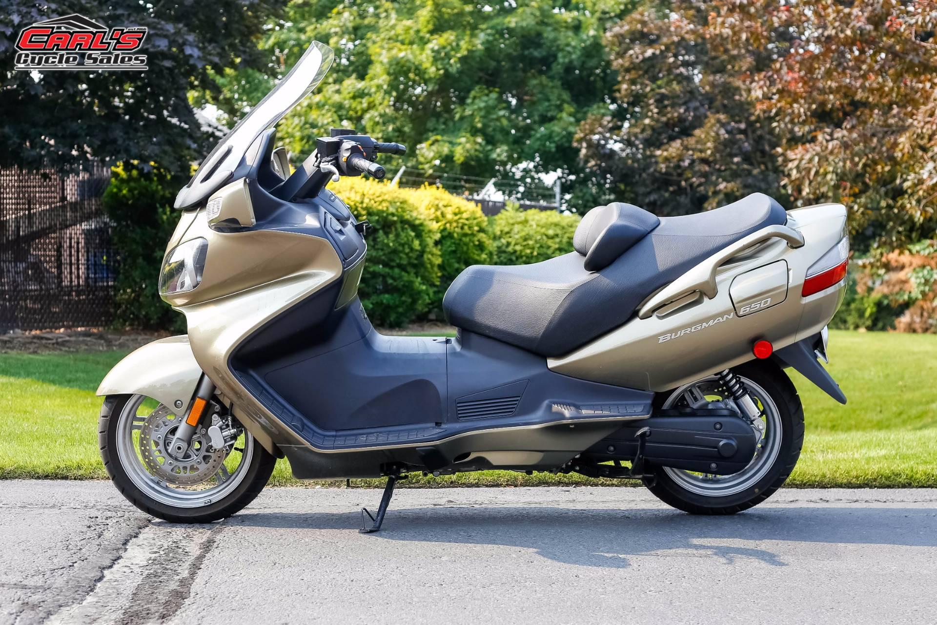 2008 Burgman 650