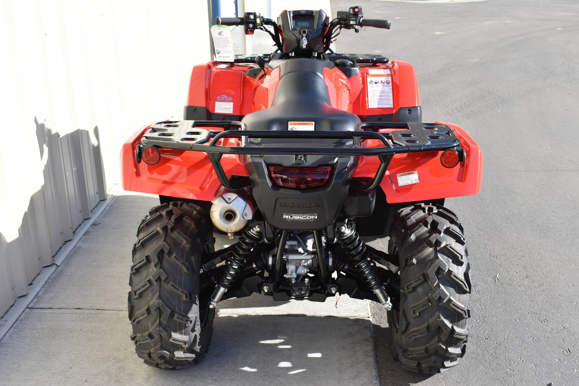 2020 Honda FourTrax Foreman Rubicon 4x4 Automatic DCT EPS in Boise, Idaho - Photo 5