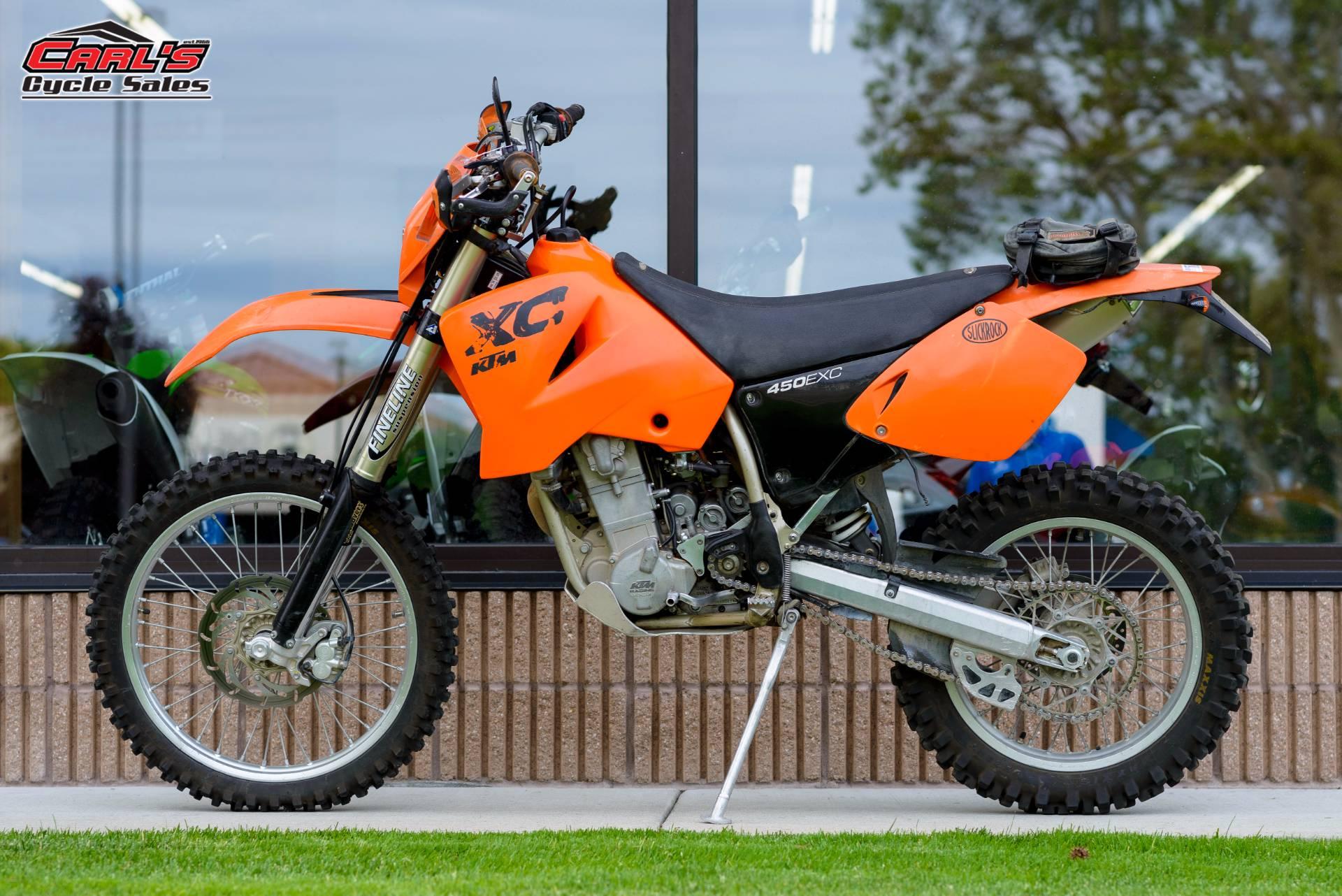 2003 450 EXC Racing