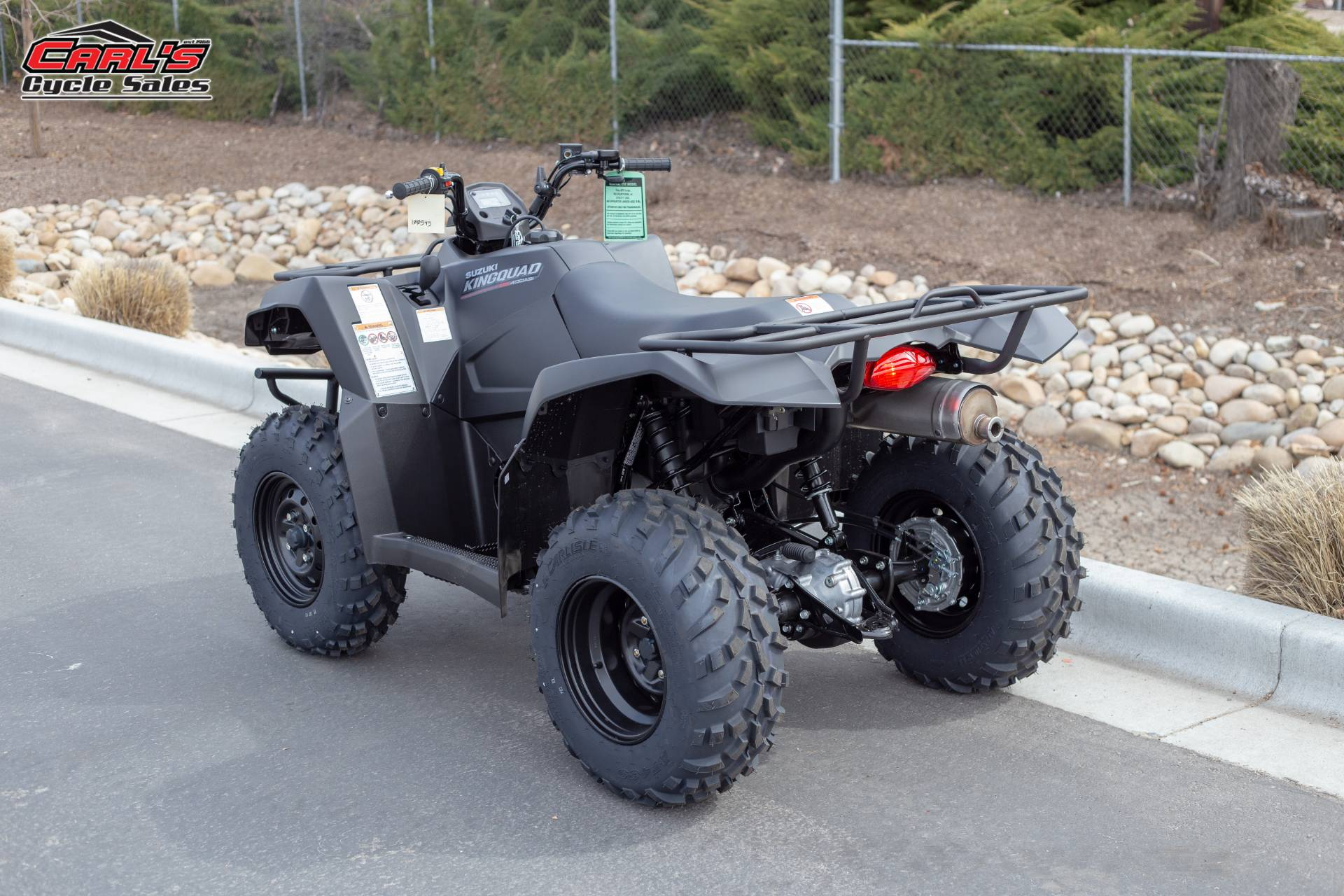 2019 Suzuki KingQuad 400ASi+ in Boise, Idaho - Photo 3