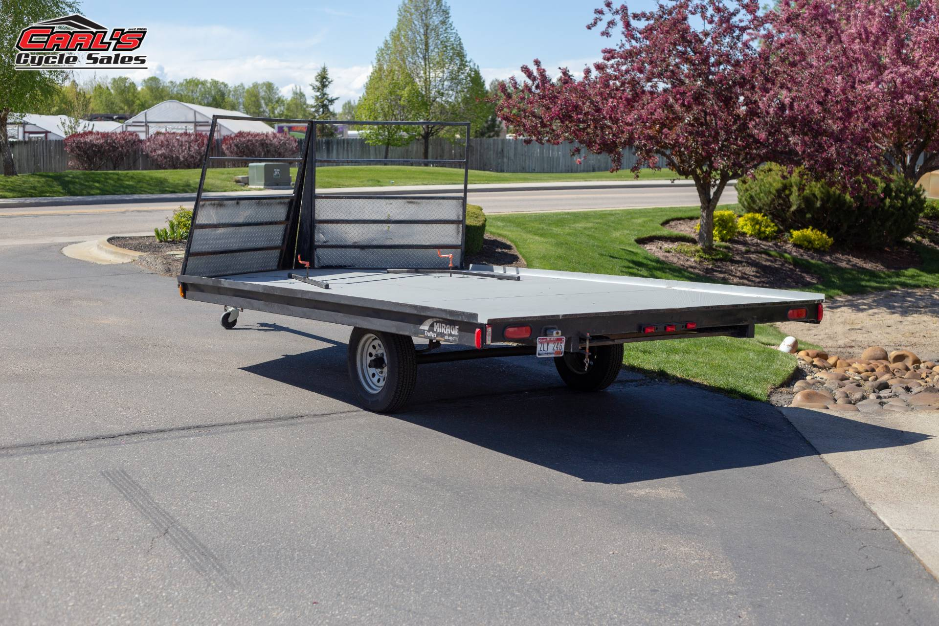 2009 Other Mirage 8x12 Flat Snow Trailer in Boise, Idaho - Photo 3