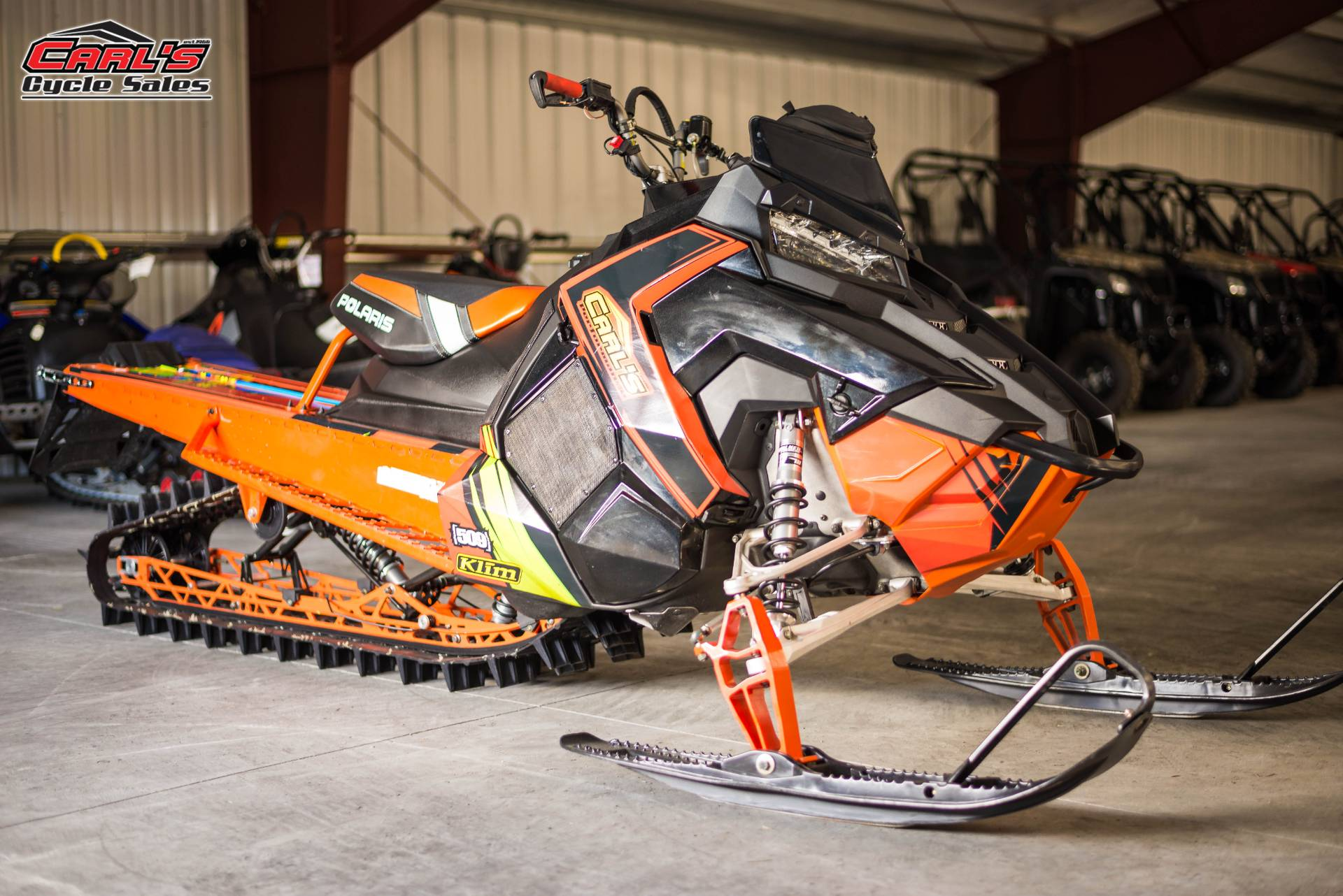 2016 Polaris 800 Pro-RMK 155 SnowCheck Select in Boise, Idaho