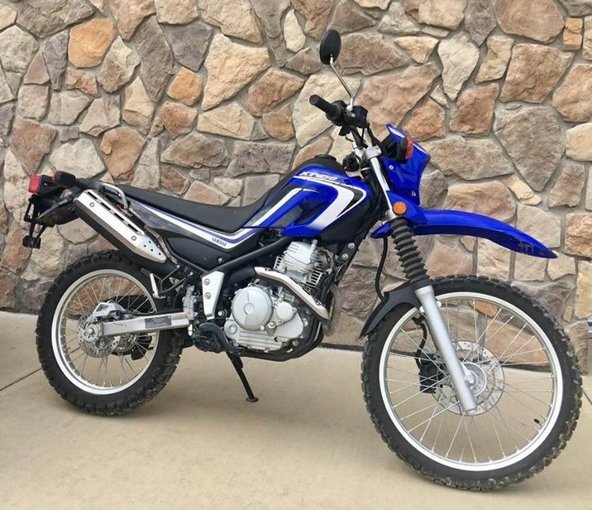2014 Yamaha XT250 4