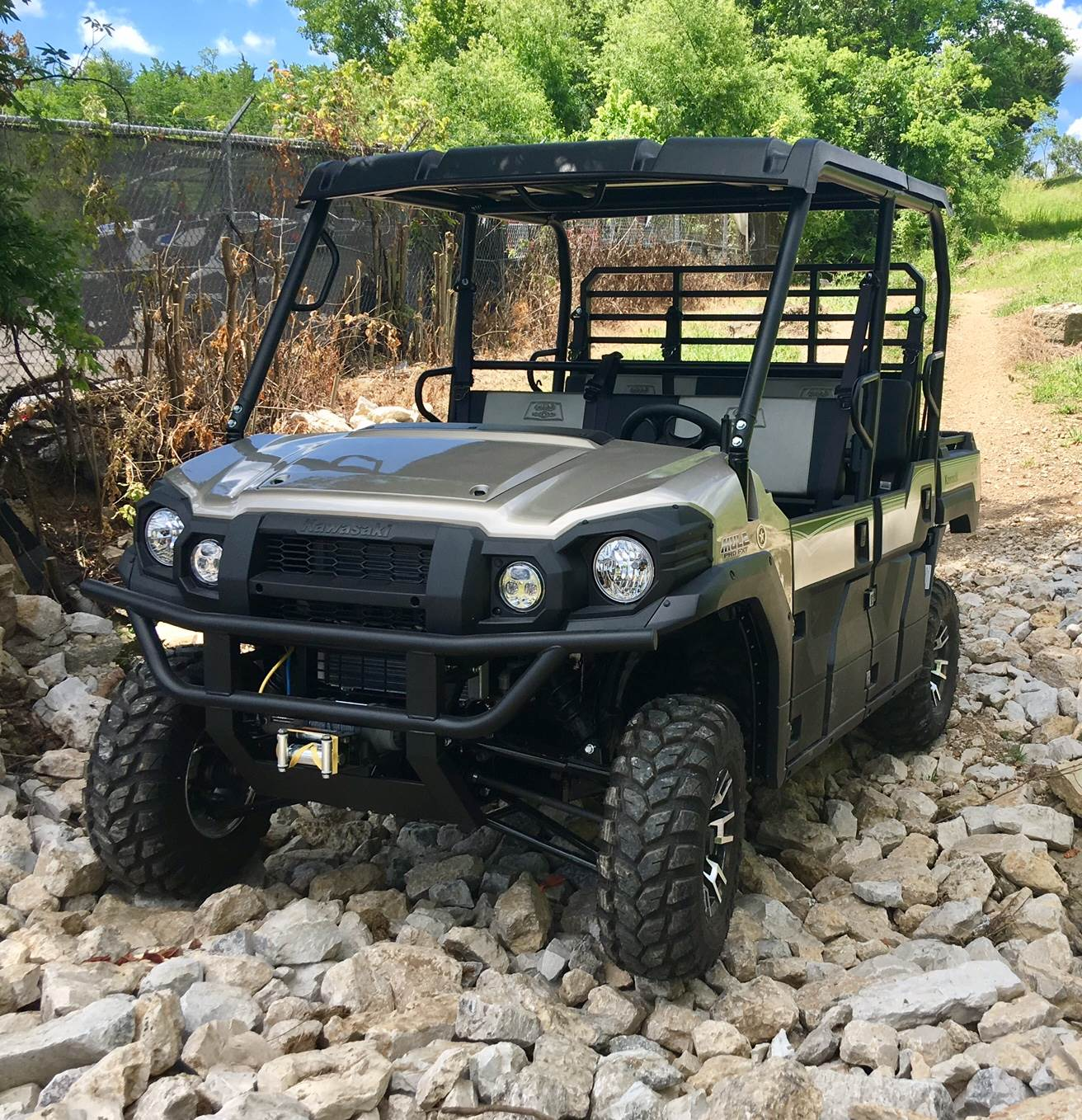2017 Kawasaki Mule PRO-FXT Ranch Edition for sale 3572