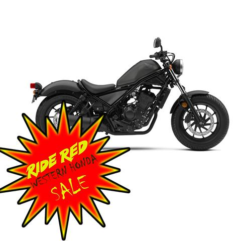 2019 Honda Rebel 300 in Scottsdale, Arizona