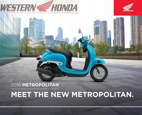 2016 Honda Metropolitan in Scottsdale, Arizona