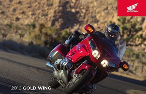 2016 Honda Gold Wing Navi XM ABS in Scottsdale, Arizona