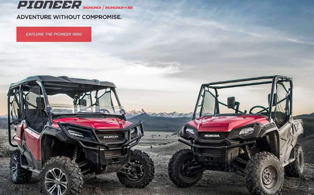 2016 Honda Pioneer 1000-5 in Scottsdale, Arizona
