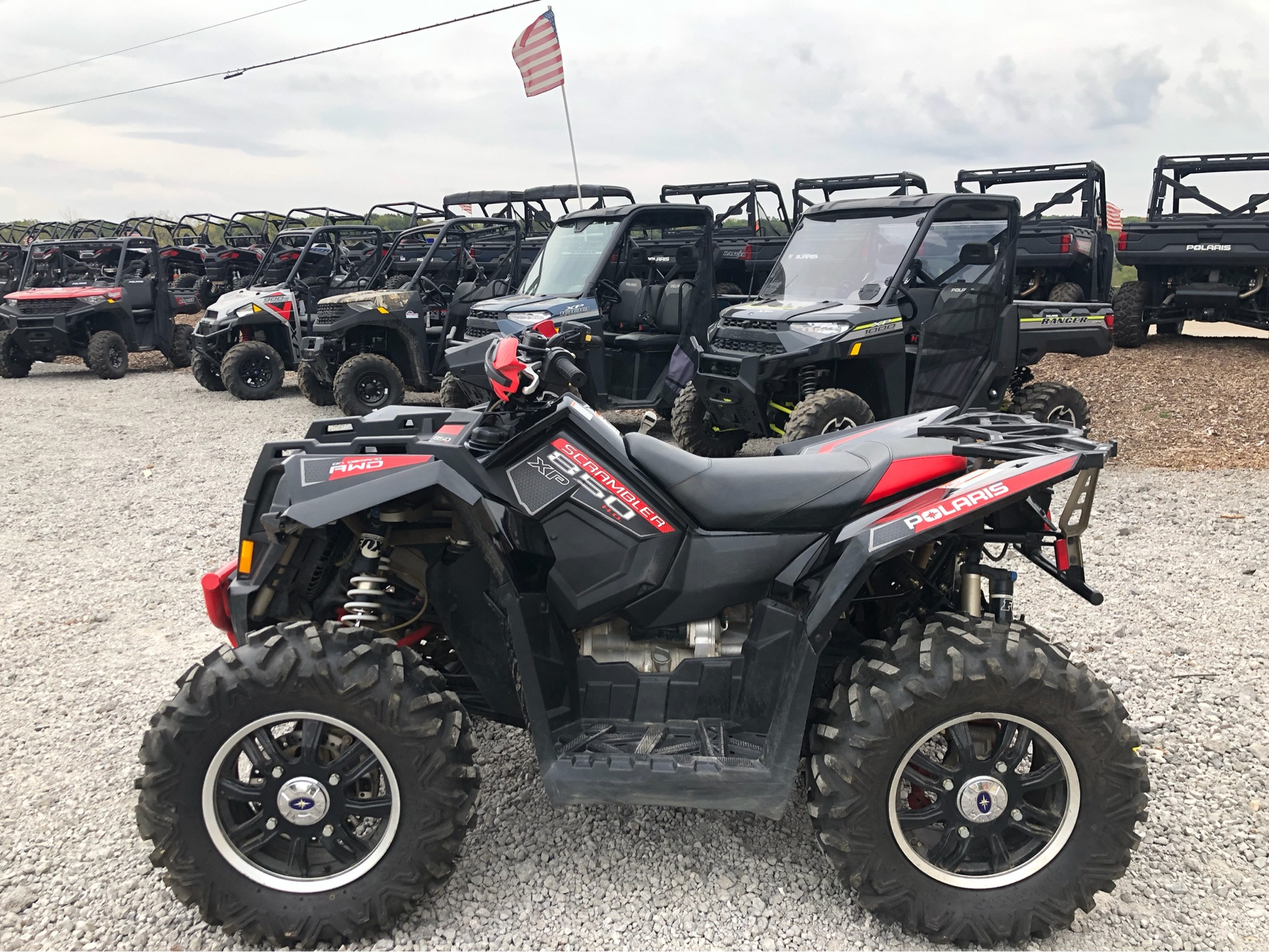 2013 Polaris Scrambler® XP 850 H.O. EPS LE in Attica, Indiana - Photo 6