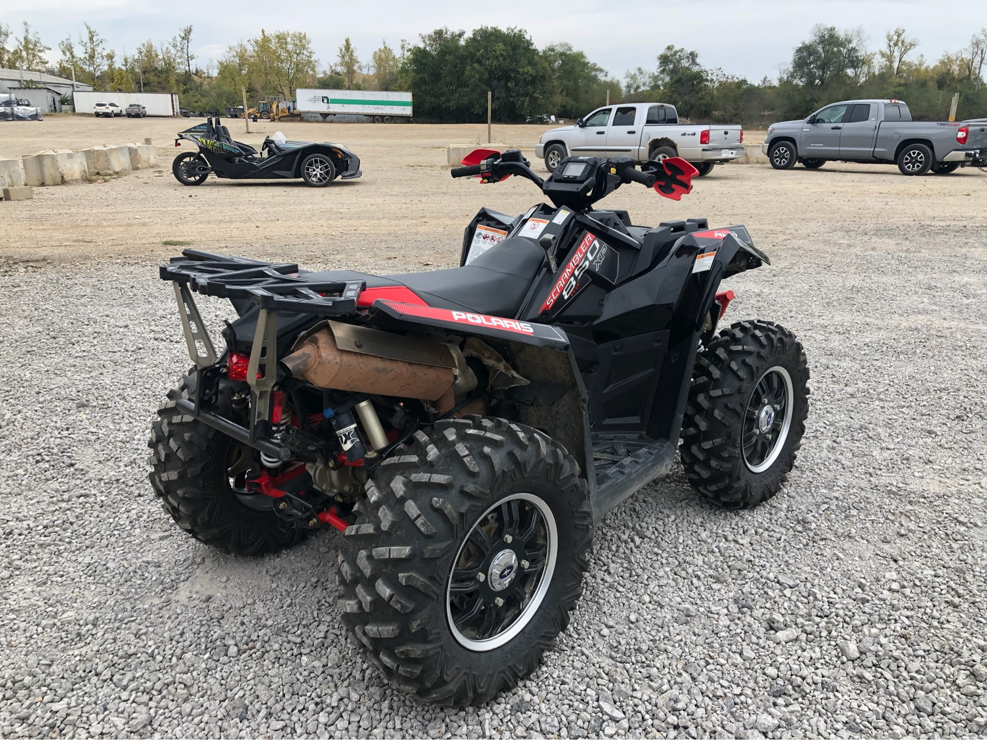 2013 Polaris Scrambler® XP 850 H.O. EPS LE in Attica, Indiana - Photo 8
