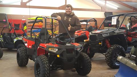 2017 Polaris Ace 150 EFI in Attica, Indiana