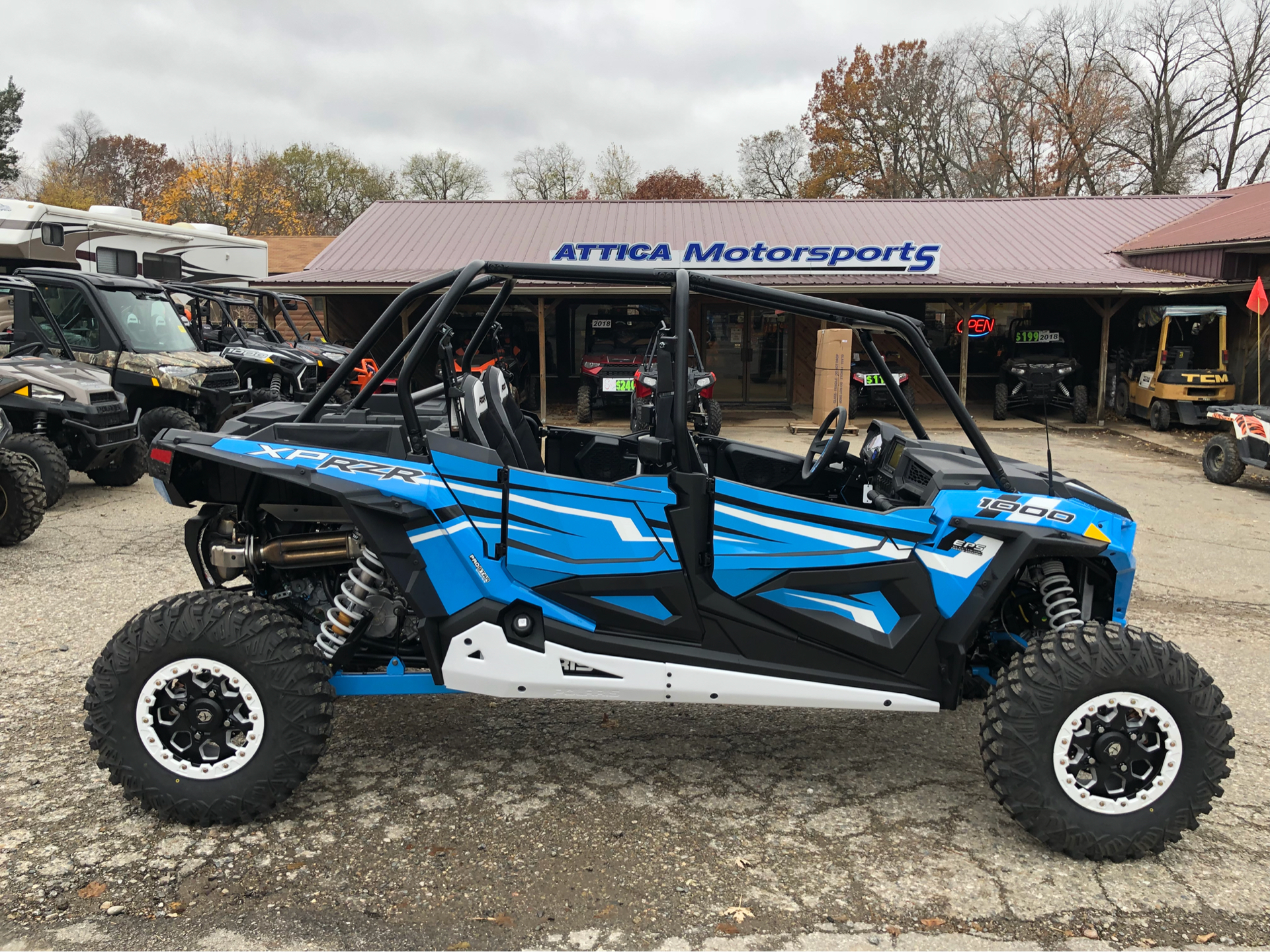 2019 Polaris RZR XP 4 1000 EPS Ride Command Edition in Attica, Indiana