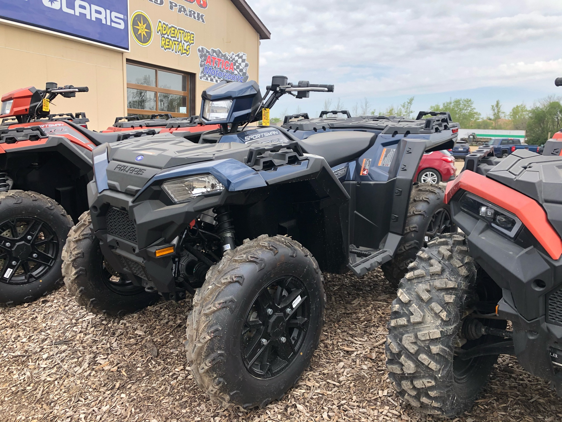 2020 Polaris Sportsman 850 Premium in Attica, Indiana - Photo 2
