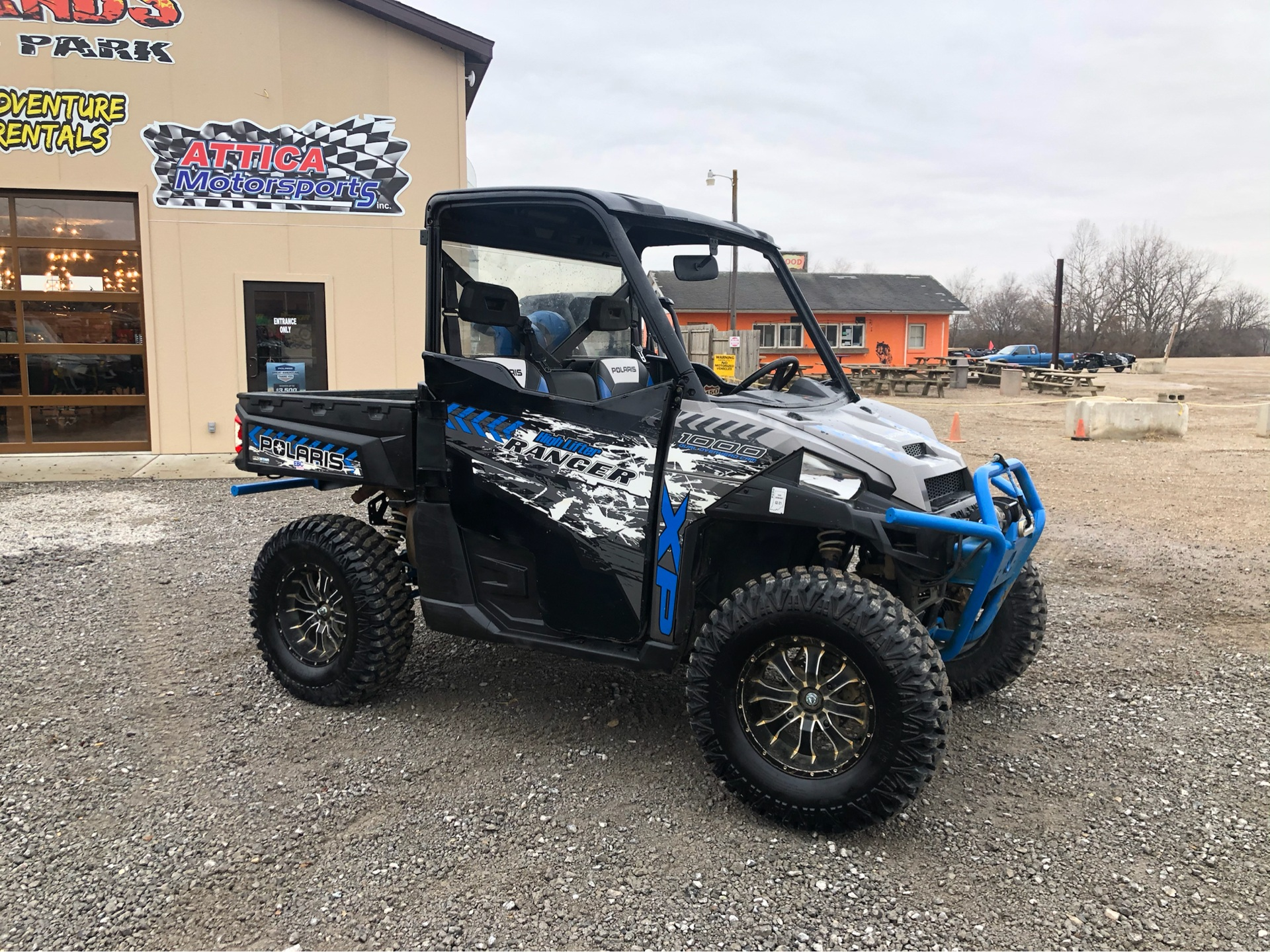 2017 Polaris Ranger XP 1000 EPS High Lifter Edition in Attica, Indiana - Photo 2