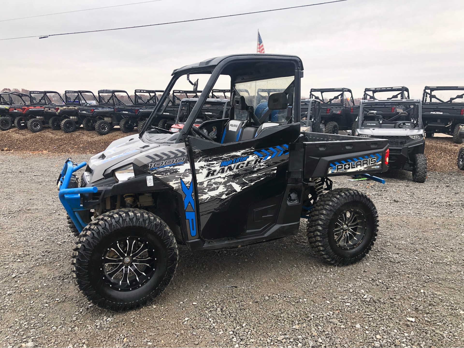 2017 Polaris Ranger XP 1000 EPS High Lifter Edition in Attica, Indiana - Photo 7