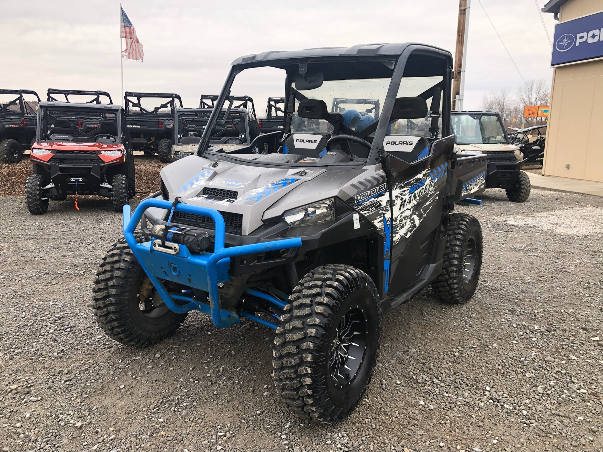2017 Polaris Ranger XP 1000 EPS High Lifter Edition in Attica, Indiana - Photo 8
