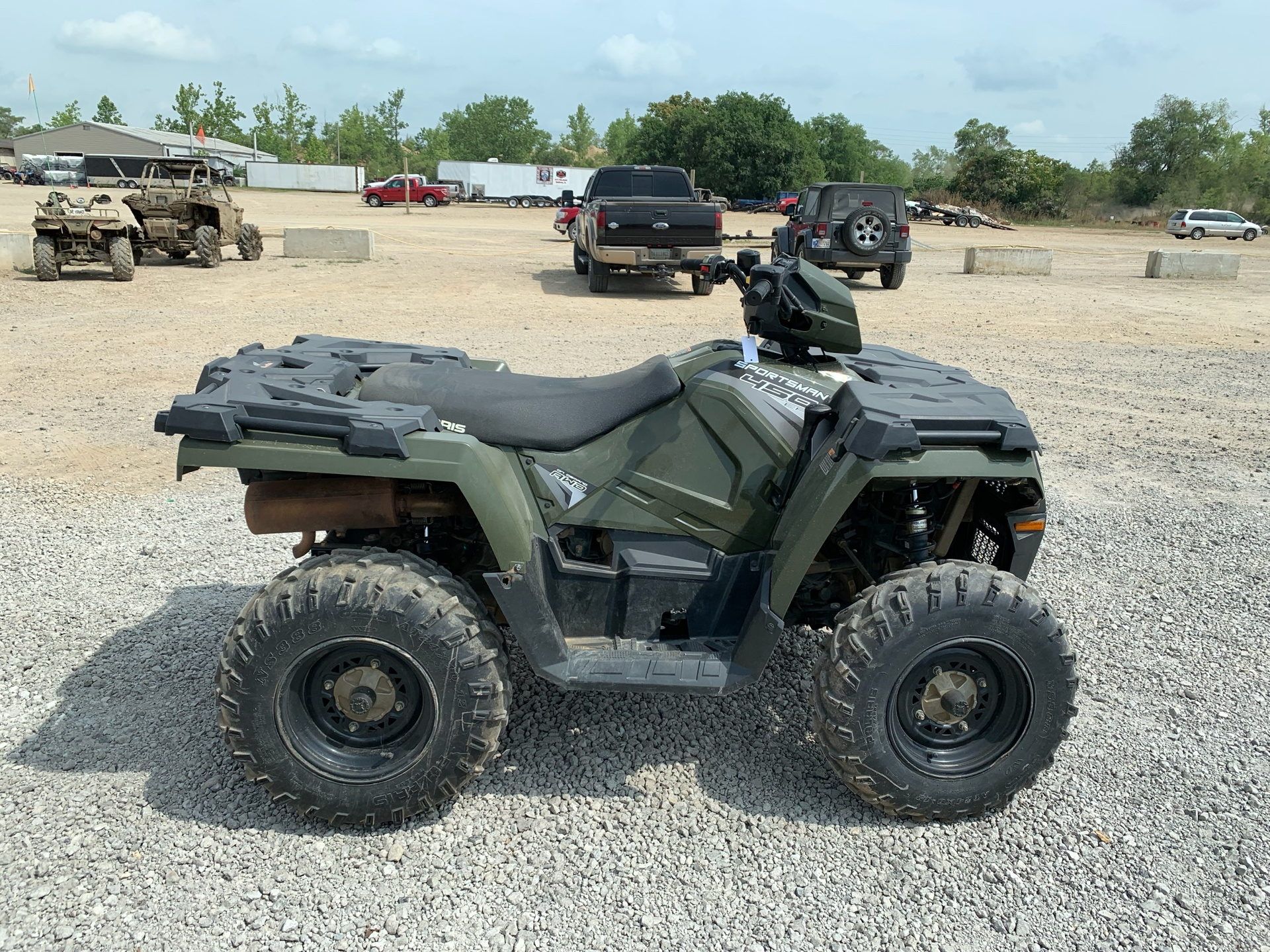 2018 Polaris Sportsman 450 H.O. in Attica, Indiana - Photo 4