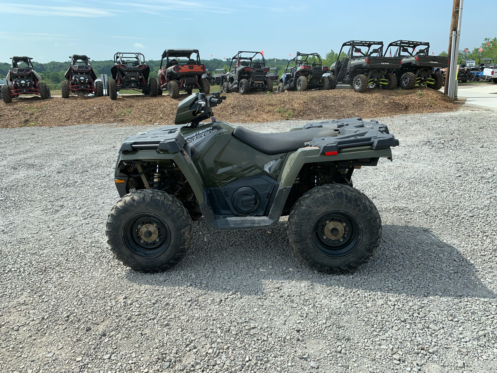 2018 Polaris Sportsman 450 H.O. in Attica, Indiana - Photo 5