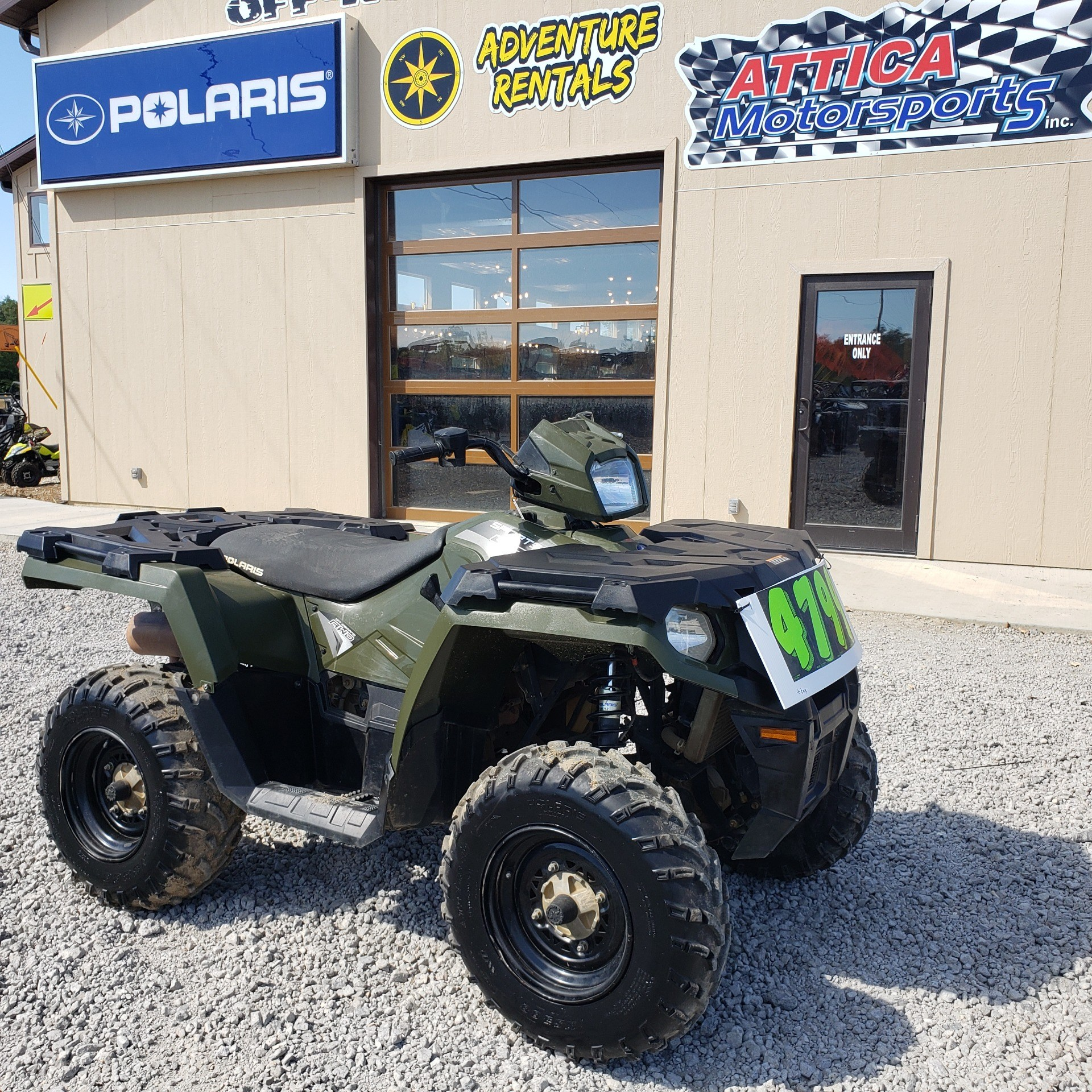 2018 Polaris Sportsman 450 H.O. in Attica, Indiana - Photo 8