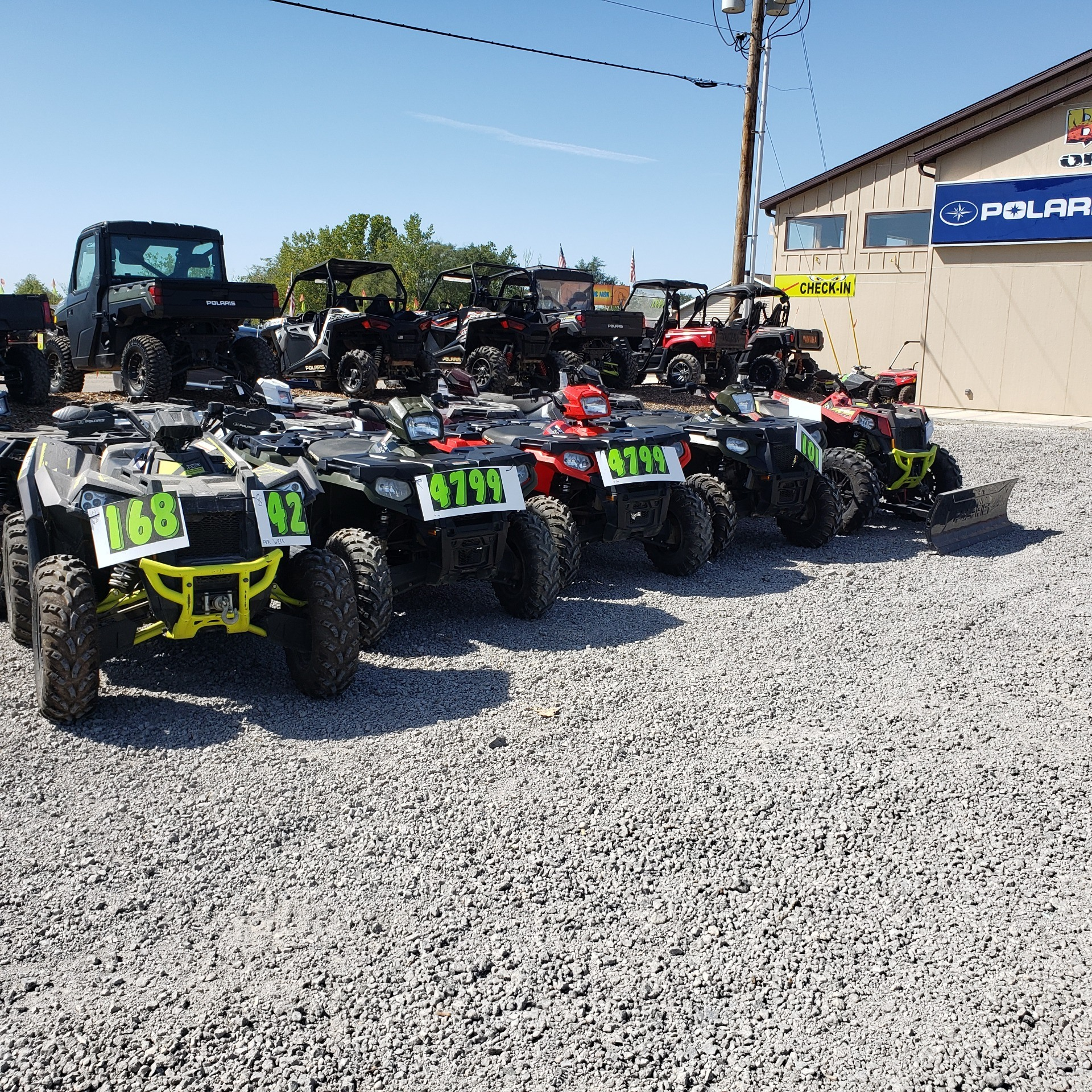 2018 Polaris Sportsman 450 H.O. in Attica, Indiana - Photo 9