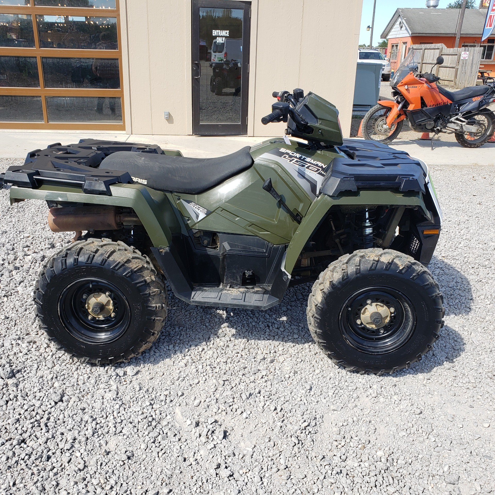 2018 Polaris Sportsman 450 H.O. in Attica, Indiana - Photo 12