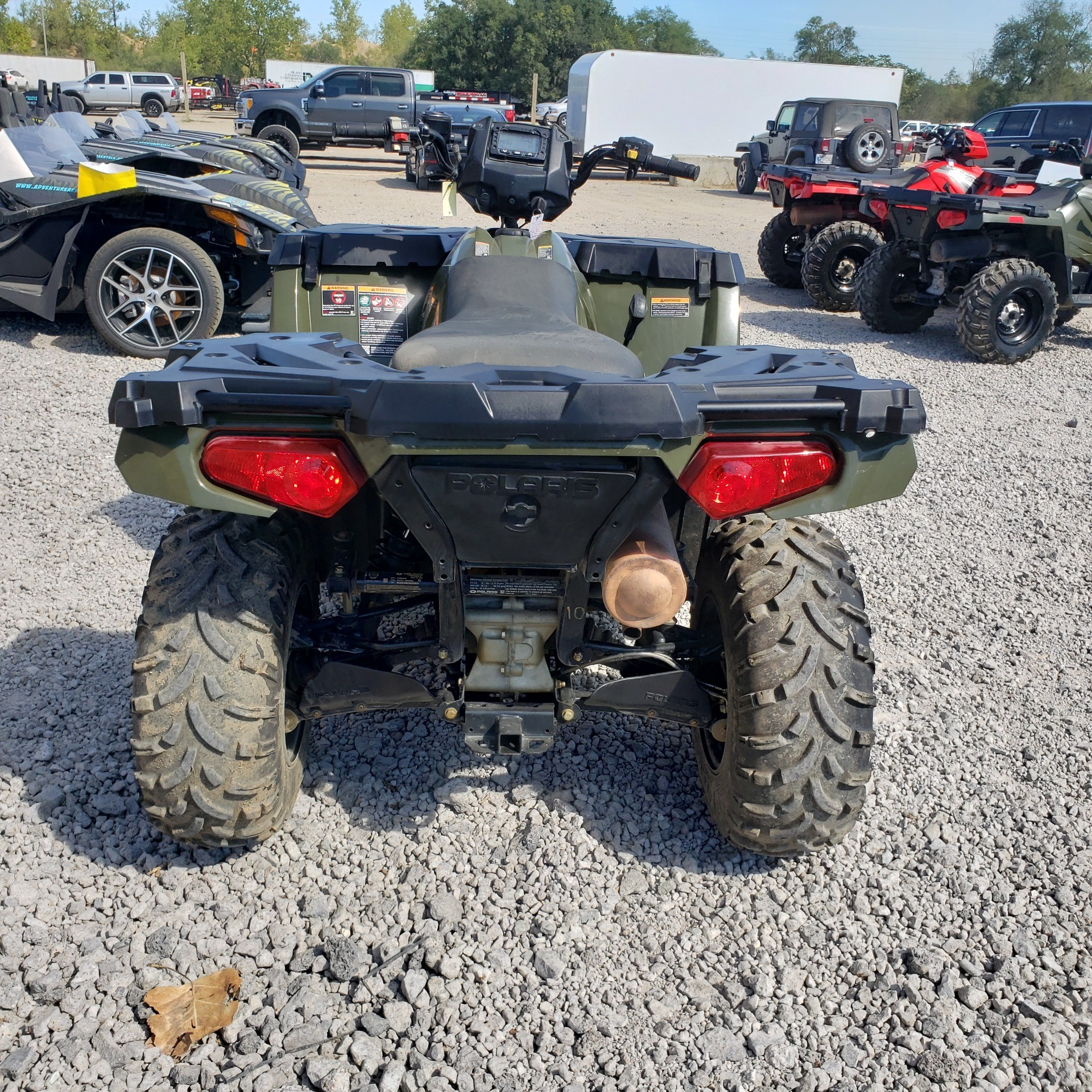 2018 Polaris Sportsman 450 H.O. in Attica, Indiana - Photo 14