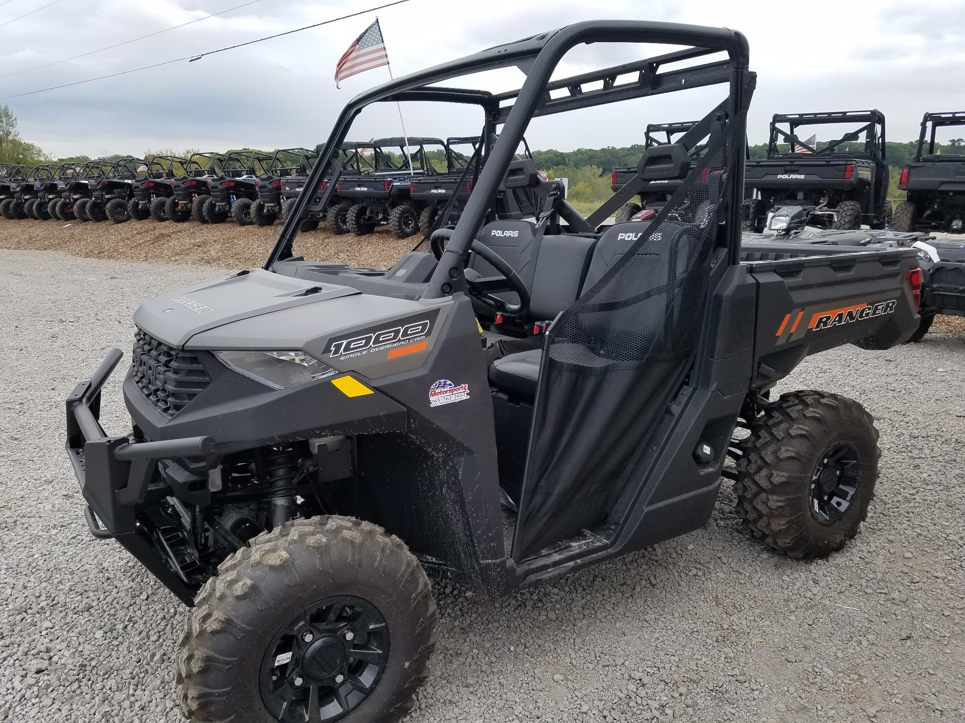 2020 Polaris Ranger 1000 Premium in Attica, Indiana - Photo 1