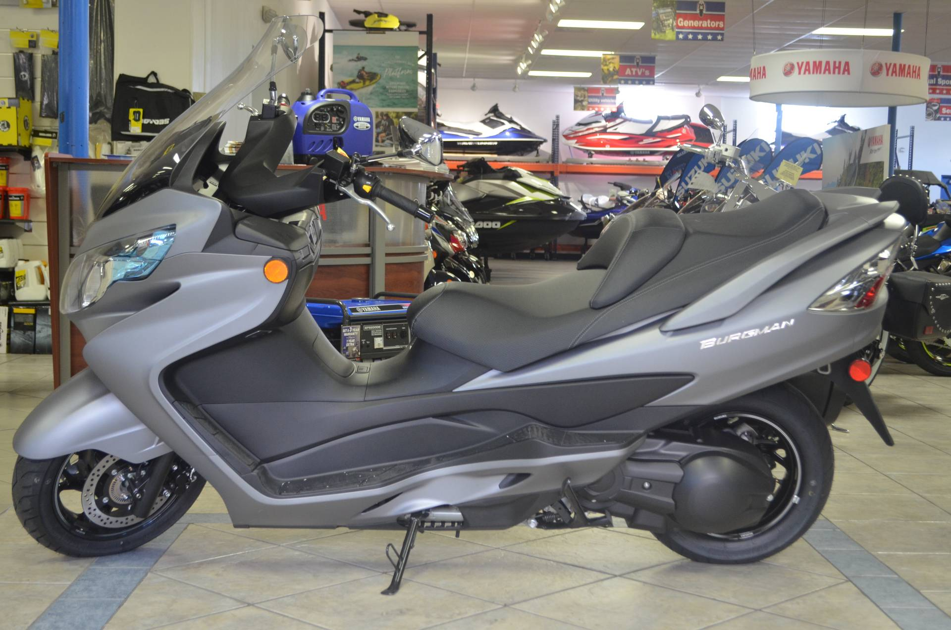 2016 Suzuki Burgman 400 ABS in Miami, Florida