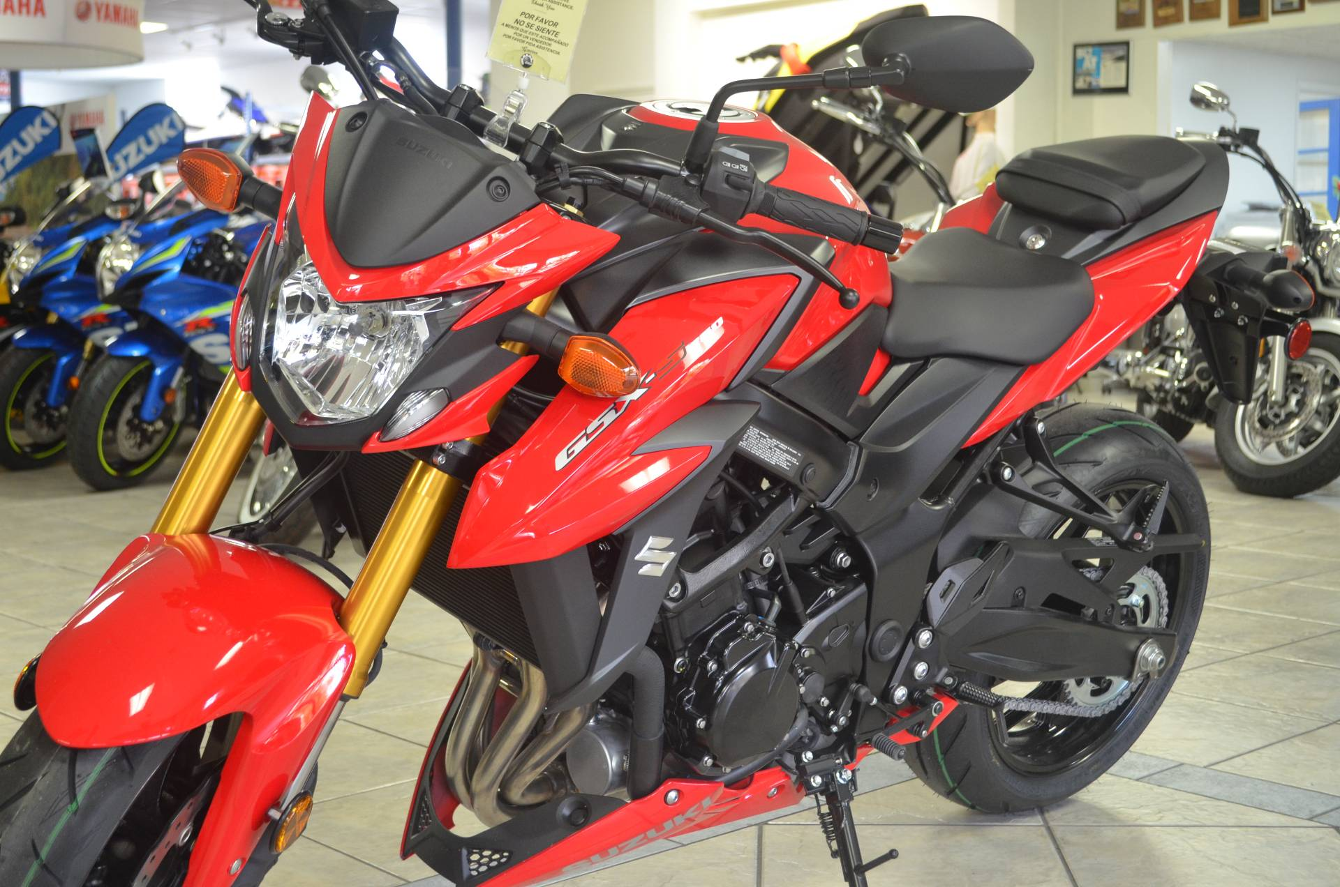 2018 Suzuki GSX-S750 in Miami, Florida