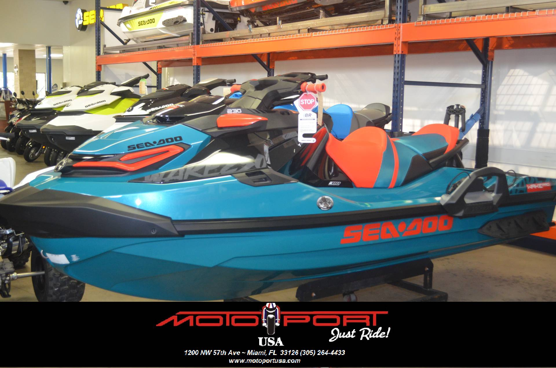2018 Sea-Doo WAKE Pro 230 iBR in Miami, Florida
